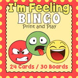 Emotions and Feelings BINGO Game