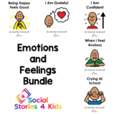 Emotions and Feelings Bundle (English Black and White Versions)