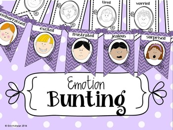 Emotions and Feelings Bunting