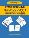 Emotions and Feelings Rummy: Emotional Literacy Skills for Older Kids and Teens