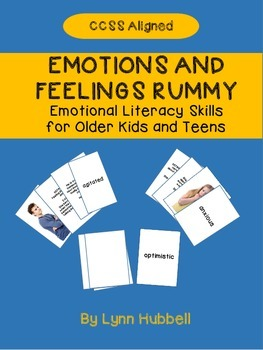 Emotions and Feelings Rummy: Emotional Literacy Skills for