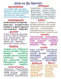 Emotions and Opinions Spanish