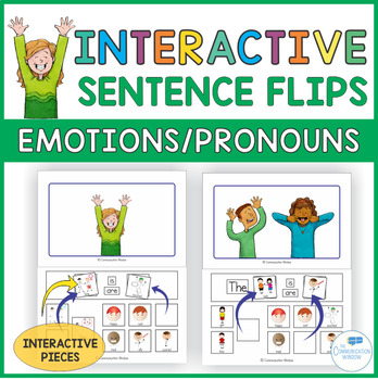 Emotions and Pronouns Interactive Sentence Flips