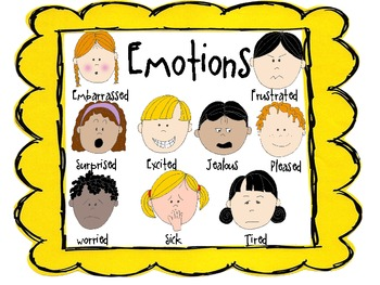 Emotions and feelings Morning Meeting PreK-2 SPED and Inclusion Classrooms