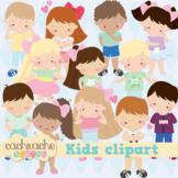 Emotions and feelings kids clipart, Children class clipart, boys & girls clipart