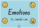 Emotions and problem solving - interactive short story book for children