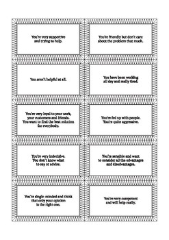 Emotions cards for any roleplay