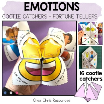 Emotions cootie catchers / Fortune Teller