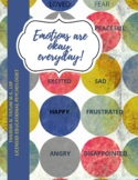 Emotions are okay! dealing with emotions, feelings, coping
