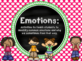 Emotions for Pre-K and Kindergarten
