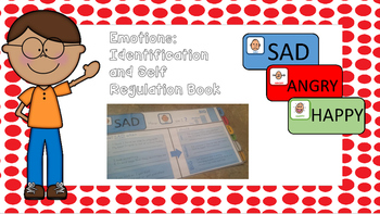 Free emotions identification and self regulation book