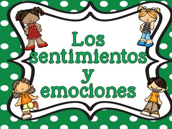 Emotions in Spanish