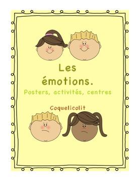Émotions : posters - activités - centers