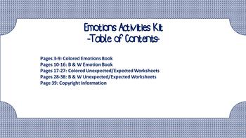 Social Skills: Emotions