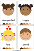 Emotions/Feelings Vocabulary Cards