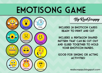 Emotisong Singing Game