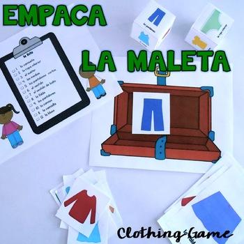 Empaca la Maleta {Clothing Game}