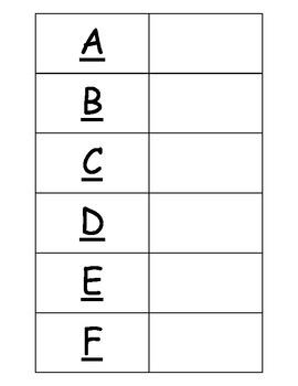 Emparejando el Alfabeto-Con el alfabeto español nuevo