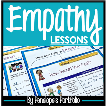 EMPATHY Activities and Worksheets - Character Education