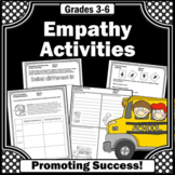 Empathy Worksheets Packet, Empathy Activities Scenarios Role Playing and More!