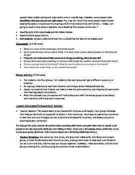 Empathy Building/Inclusion Lesson