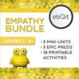 Empathy, Compassion & Inclusion Middle School Bundle | Prezis & Printables