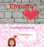 Empathy Bundle:Empathy Powerpoint Lesson/Digital Pre-linked Empathy Escape Room