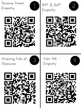 Empathy Character Education QR Code Exploration