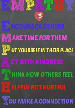 Empathy Classroom Poster