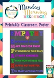 Empathy Classroom Poster