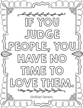 Empathy Coloring Pages   Character Coloring Pages   10 Fun, Creative Designs