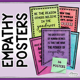 EMPATHY AND COMPASSION POSTERS: Inclusion; Character Ed; Class Decor