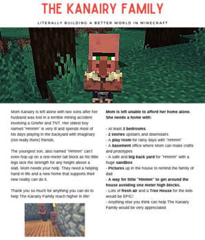 Empathy Education in Minecraft