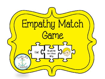 Empathy Feeling Matching Puzzle Piece Game