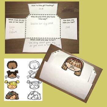 Empathy Perspective Taking Games and Foldable Activities