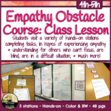 Empathy Obstacle Course Class Lesson