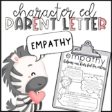 Empathy Parent Letter
