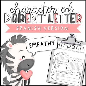 Empathy Parent Letter - SPANISH