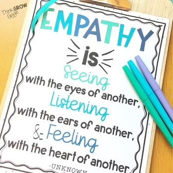 Empathy Posters Activities
