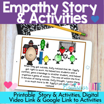 Empathy Story (How do I walk a mile in Mr. EggZy's Shoes?)