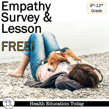 Empathy Lesson FREE!: Promote Classroom Empathy With This Survey and Homework