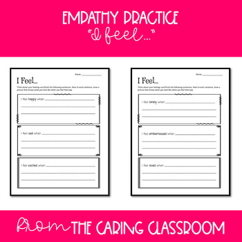 Empathy Worksheets For Kids Worksheets for all | Download and ...
