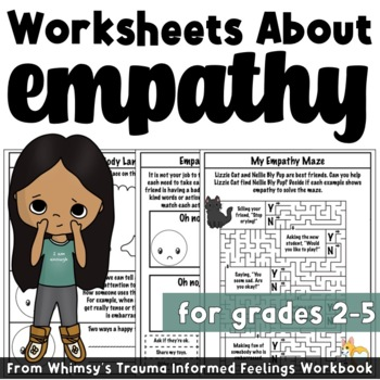 Empathy Worksheets Trauma Informed