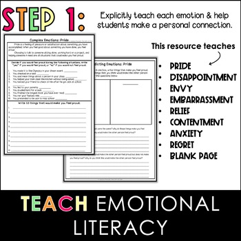 Emotional Intelligence | Social Emotional Learning Worksheets