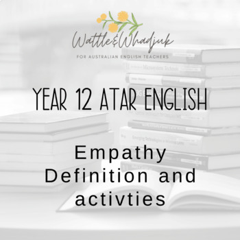 Empathy and controversy: definitions, explanation and sample writing