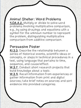 Empathy for Animals: Math & ELA Activity!