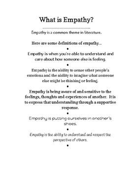Empathy in Literature