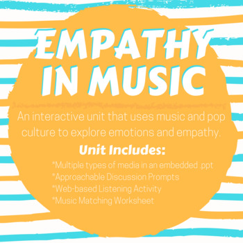 Empathy through Music (an SEL lesson)
