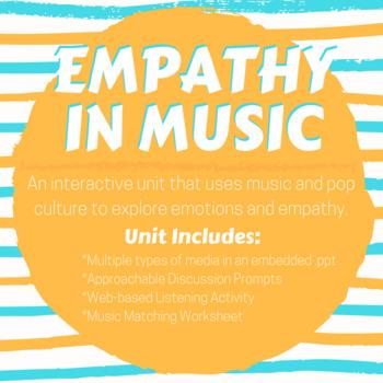 Empathy through Music (an SEL lesson)
