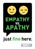 Empathy vs. Apathy